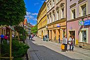 Ulica Basztowa, Złotoryja, Polska<br /> Basztowa Street in Złotoryja, Poland
