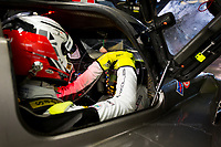 Qualifying 3 Pits Simon Trummer (CHE) / Oliver Webb (GBR) / Pierre Kaffer (DEU) driving the #4 LMP1 Bykolles Racing Team CLM P1/01 - 24hr Le Mans 16th June 2016
