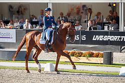 Witte-Vrees Madeleine, NED, Cennin<br /> Nederlands Kampioenschap dressuur<br /> Ermelo 2020<br /> © Hippo Foto - Sharon Vandeput<br /> 20/09/2020
