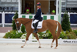 Yu Jen Sun, (TPE), Miss Finnland - Individual Test Grade II Para Dressage - Alltech FEI World Equestrian Games™ 2014 - Normandy, France.<br /> © Hippo Foto Team - Jon Stroud <br /> 25/06/14