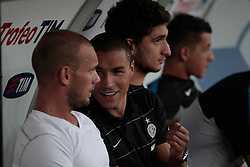 Bari (BA) 21.07.2012 - Trofeo Tim 2012. Inter - Juventus. Nella Foto: Sneijder e Cordoba (I)