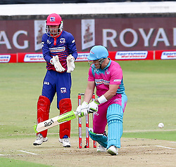 Durban. 181118.  Morne van Wyk of the Durban Heat during the Mzansi Super League match between Durban Heat and Cape Town Blitz at Sahara Stadium Kingsmead on November 18, 2018 in Durban, South Africa. Picture Leon Lestrade. African News Agency. ( ANA ).
