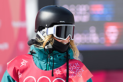 February 19, 2018 - Pyeongchang, SOUTH KOREA - 180219 Jessica Rich of Australia competes in the Women's Big Air Qualification during day ten of the 2018 Winter Olympics on February 19, 2018 in Pyeongchang..Photo: Carl Sandin / BILDBYRÃ…N / kod CS / 57999_306 (Credit Image: © Carl Sandin/Bildbyran via ZUMA Press)