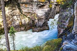 Athabaska River Slot Canyon, Jasper National Park