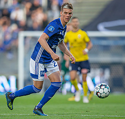 Kasper Enghardt (Lyngby Boldklub) under kampen i 3F Superligaen mellem Lyngby Boldklub og Hobro IK den 20. juli 2020 på Lyngby Stadion (Foto: Claus Birch).
