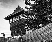 Auschwitz, Poland, 9 sept 2018, Connotations to objects from Auschwitz.