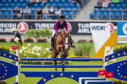 Diniz Luciana, POR, Fit For Fun 13<br /> CHIO Aachen 2019<br /> Weltfest des Pferdesports<br /> © Hippo Foto - Stefan Lafrentz<br /> Diniz Luciana, POR, Fit For Fun 13