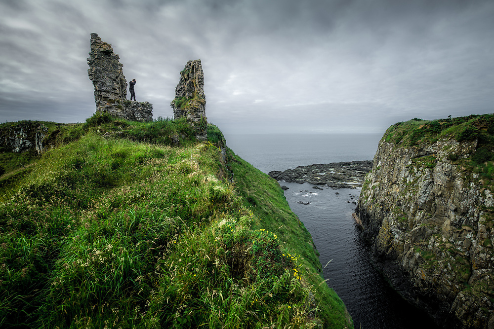 Dunseverick Castle, Northern Ireland