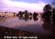Harrisburg, PA, Flooded Susquehanna River, City Island