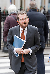 © Licensed to London News Pictures. 23/01/2012. London, UK. Counsel to the Inquiry, Robert Jay QC arriving at the Royal Courts of Justice on January 23rd, 2012, for the Leveson Inquiry in to press standards. Photo credit : Ben Cawthra/LNP