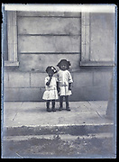 two little girls ca 1920s
