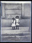two little girls ca 1920s