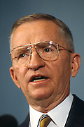Former independent presidential candidate and billionaire Ross Perot October 24, 1996 in Washington, DC.