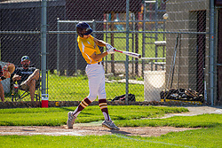 04 June 2021:   Heyworth Hornets at LeRoy Panthers in LeRoy IL<br /> <br /> 1 launches 3 run homer<br /> (Photo by Alan Look)