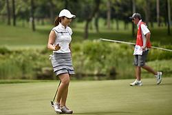 October 26, 2017 - Kuala Lumpur, Malaysia - Su Oh of Australia during day one of the Sime Darby LPGA Malaysia at TPC Kuala Lumpur on October 26, 2017 in Kuala Lumpur, Malaysia. (Credit Image: © Chris Jung/NurPhoto via ZUMA Press)