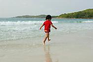 Child Running on the beach