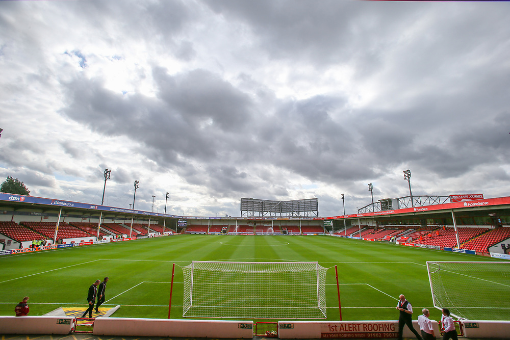 A general view of Banks's Stadium, home of Walsall FC<br /> <br /> Photographer Alex Dodd/CameraSport<br /> <br /> The EFL Sky Bet League One - Walsall v Blackpool - Saturday 14th October 2017 - Bescot Stadium - Walsall<br /> <br /> World Copyright © 2017 CameraSport. All rights reserved. 43 Linden Ave. Countesthorpe. Leicester. England. LE8 5PG - Tel: +44 (0) 116 277 4147 - admin@camerasport.com - www.camerasport.com