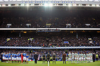 Football - Scottish Premier League - Rangers vs. Celtic<br /> A moments silence before the game at Ibrox