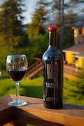 Venge Wine, Talon Lodge, Sitka, Alaska