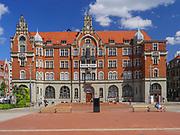 Budynek Muzeum Śląskiego w Katowicach, Polska<br /> Building of the Silesian Museum in Katowice, Poland
