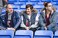 Bolton fans before the EFL Sky Bet League 1 match between Bolton Wanderers and Rochdale at the University of  Bolton Stadium, Bolton, England on 19 October 2019.