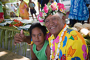 Welcome, Takapoto, Tuamotu Islands, French Polynesia, (Editorial use only)<br />