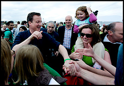 Leader of the Conservative Party David Cameron during a Community meeting at stockton Sixth Form College, Sunday April 25, 2010. Photo By Andrew Parsons / i-Images.