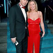 Premiere Dinnershow 2000, Jeroen van der Boom en vrouw Willy Koper