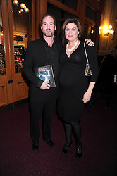 AMANDA LAMB and SEAN McGUINNESS at the Cirque du Soleil's gala premier of Quidam held at the Royal Albert Hall, London on 6th January 2009