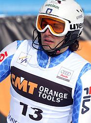 Patrick Thaler at 9th men's slalom race of Audi FIS Ski World Cup, Pokal Vitranc,  in Podkoren, Kranjska Gora, Slovenia, on March 1, 2009. (Photo by Vid Ponikvar / Sportida)