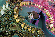 QATAR. Doha. Layout The Pearl...Qatar is building its own artificial island, The Pearl, in tribute of the country's past with pearl fishermen. In 2011, 40 000 inhabitants will reside on this island of 400 hectares...
