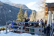 Champoluc, Italy February 2013