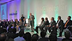 O governador de SP Geraldo Alckmin durante abertura oficial da HOSPITALAR 2011 - 18ª Feira Internacional de Produtos, Equipamentos, Serviços e Tecnologia para Hospitais, Laboratórios, Clínicas e Consultórios, que acontece de 24 a 27 de maio de 2011, no Expo Center Norte, em São Paulo. FOTO: Jefferson Bernardes/Preview.com