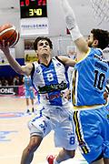 DESCRIZIONE : Capo dOrlando Lega A 2015-16 Betaland Orlandina Basket Vanoli Cremona<br /> GIOCATORE : Tommaso Laquintana<br /> CATEGORIA : Penetrazione Tiro<br /> SQUADRA : Betaland Orlandina Basket<br /> EVENTO : Campionato Lega A Beko 2015-2016 <br /> GARA : Betaland Orlandina Basket Vanoli Cremona<br /> DATA : 15/11/2015<br /> SPORT : Pallacanestro <br /> AUTORE : Agenzia Ciamillo-Castoria/G.Pappalardo<br /> Galleria : Lega Basket A Beko 2015-2016<br /> Fotonotizia : Capo dOrlando Lega A Beko 2015-16 Betaland Orlandina Basket Vanoli Cremona