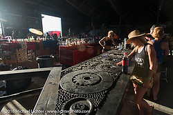 The new Full Throttle Saloon on highway 79 (the old Broken Spoke) during the annual Sturgis Black Hills Motorcycle Rally.  SD, USA.  August 9, 2016.  Photography ©2016 Michael Lichter.