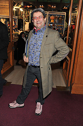TIMMY MALLETT attends the premier of 2012 Cirque du Soleil's Totem at the Royal Albert Hall, London on 5th January 2012,
