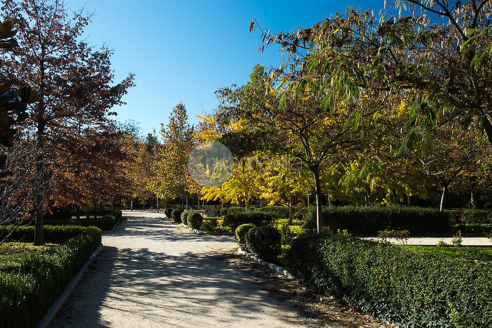 Jardines del Parque del Retiro. Madrid. Comunidad de Madrid. España. Europa ©Tomás Calle / PILAR REVILLA