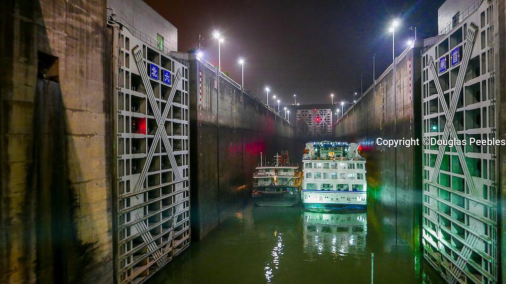 Ship Locks, The Three Gorges Dam Project, Yangtze River, China