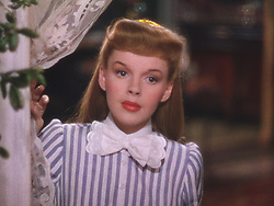 RELEASED: Nov 28, 1944 - Original Film Title: Meet Me In St. Louis. PICTURED:   JUDY GARLAND. (Credit Image: © Entertainment Pictures/Entertainment Pictures/ZUMAPRESS.com)