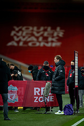 LIVERPOOL, ENGLAND - Thursday, March 4, 2021: Liverpool's manager Jürgen Klopp before the FA Premier League match between Liverpool FC and Chelsea FC at Anfield. Chelsea won 1-0 condemning Liverpool to their fifth consecutive home defeat for the first time in the club's history. (Pic by David Rawcliffe/Propaganda)