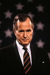 Mar 09, 1989; Washington , DC, USA; U.S. President GEORGE BUSH SR..  (Credit Image: Arthur Grace/ZUMAPRESS.com)