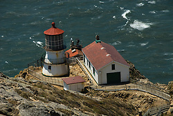 California: Lighthouse at Point Reyes National Seashore near San Francisco. Photo copyright Lee Foster. Photo # casanf81234