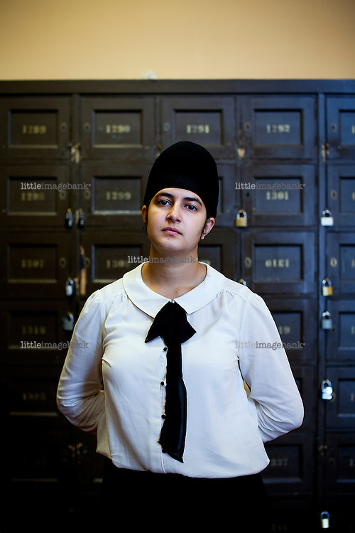 Oslo, Norge, 21.08.2012. Prableen Kaur (født 20. mars 1993) er en norsk politiker fra Arbeiderpartiet. Foto: Christopher Olssøn