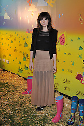 DAISY LOWE at a party to celebrate the global launch of the Iconic Brazilian lifestyle brand Havaianas Wellies range held at Selfridges, Oxford Street, London on 14th April 2011.