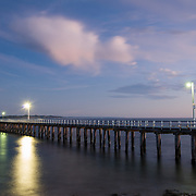 Point Lonsdale Pier at dusk