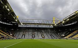 Dark clouds gather over Signal Iduna Park, home of Borussia Dortmund  - Mandatory by-line: Robbie Stephenson/JMP - 07/04/2016 - FOOTBALL - Signal Iduna Park - Dortmund,  - Borussia Dortmund v Liverpool - UEFA Europa League Quarter Finals First Leg