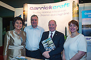 NO FEE PICTURES<br /> 23/1/16 Minister for Tourism Michael Ring and Maureen Ledwith, organiser of the Holiday World Show at the Carrick Craft stand at the Holiday World Show at the RDS in Dublin. Picture: Arthur Carron