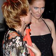 NLD/Hilversum/20070317 - Finale uitzending SBS Sterrendansen op het IJs 2007, Nance Coolen en haar coach Inge Iepenburg