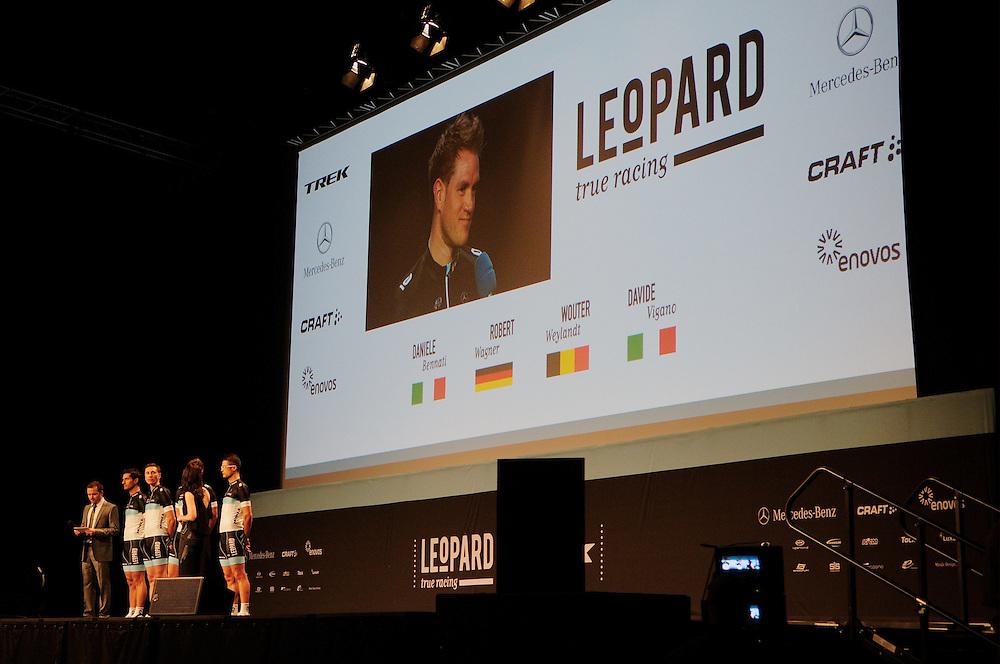 Leopard Trek True Racing team launch, Luxembourg. January 6. 2011
