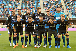 June 9, 2018 - San Jose, California, United States - San Jose, CA - Saturday June 09, 2018: San Jose Earthquakes Starting Eleven during a Major League Soccer (MLS) match between the San Jose Earthquakes and Los Angeles Football Club at Avaya Stadium. (Credit Image: © John Todd/ISIPhotos via ZUMA Wire)